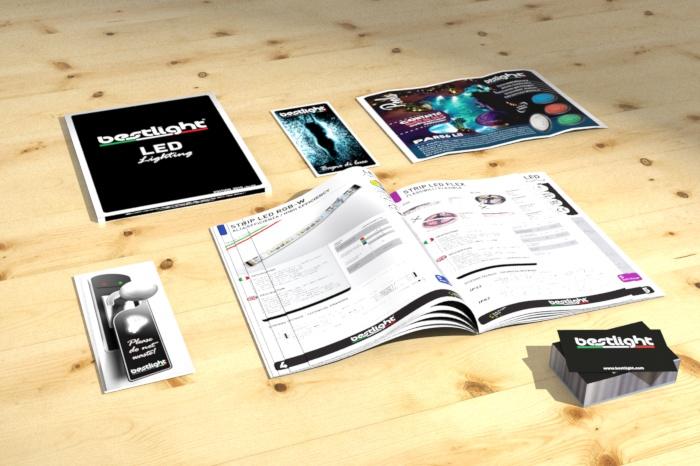 Comunicazione su carta e catalogo tecnico Bestlight.com