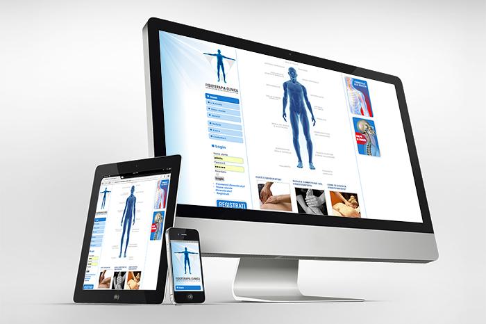 Sito web per Fisioterapia Clinica