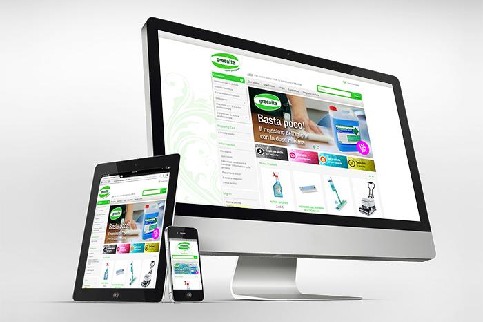 E-commerce per Greenita